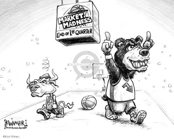 Karl Wimer  Karl Wimer Financial Cartoons 2008-04-04 economy