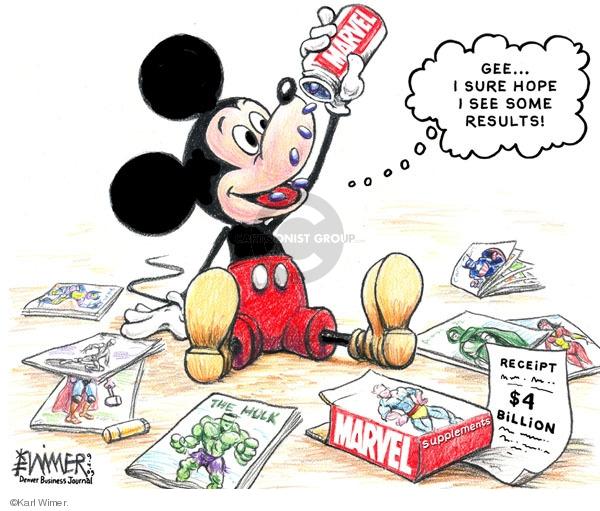 Cartoonist Karl Wimer  Karl Wimer Financial Cartoons 2009-09-04 book