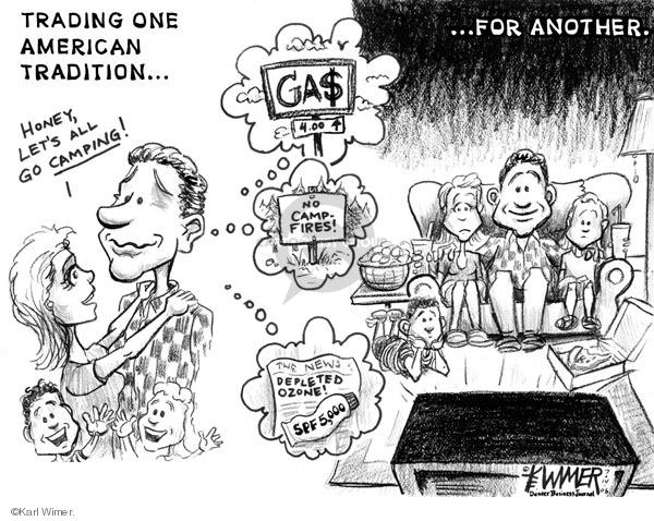 Karl Wimer  Karl Wimer Financial Cartoons 2006-07-14 environment
