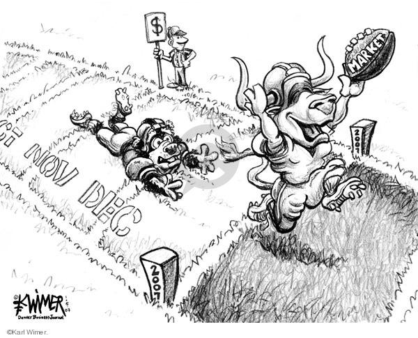 Karl Wimer  Karl Wimer Financial Cartoons 2007-01-05 2007