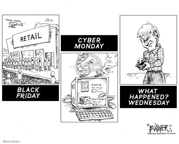 Karl Wimer  Karl Wimer Financial Cartoons 2009-12-04 sequence