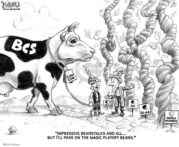 Karl Wimer  Karl Wimer Financial Cartoons 2009-12-18 Karl