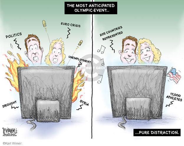 Cartoonist Karl Wimer  Karl Wimer Financial Cartoons 2012-07-27 unemployment