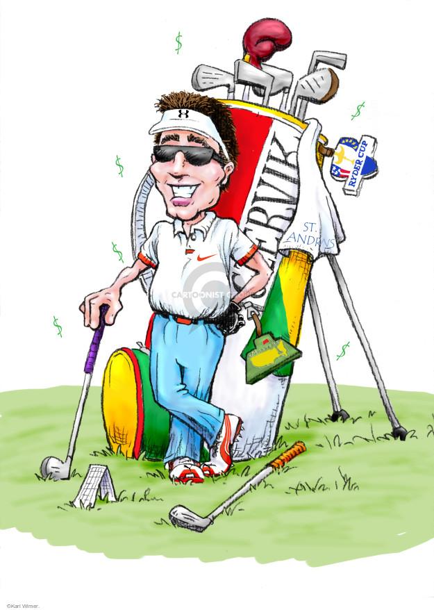 Karl Wimer  Karl Wimer Financial Cartoons 2014-11-15 percentage