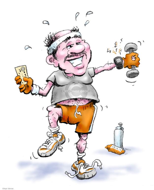 Karl Wimer  Karl Wimer Financial Cartoons 2014-11-16 Karl