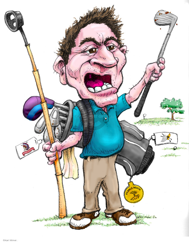 """That Worst Round of Golf Guy """"That's a shot I just don't miss. Wow, my irons are so off today; I don't know what the deal is. I was putting so well last week, too. This is the easily the worst round of my life."""" – Worst Round of My Life Guy. Translated: This is how I typically play. It is, in fact, a 'normal' game for me. My scores are never good, but I'm too embarrassed to admit it. I suck and I'm a liar."""