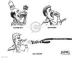 Cartoonist Karl Wimer  Karl Wimer Financial Cartoons 2008-05-09 deal