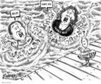 Cartoonist Karl Wimer  Karl Wimer Financial Cartoons 2008-07-25 life