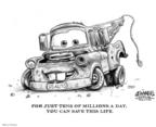 Cartoonist Karl Wimer  Karl Wimer Financial Cartoons 2008-11-21 life
