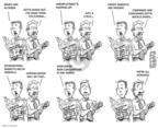 Cartoonist Karl Wimer  Karl Wimer Financial Cartoons 2009-01-23 way