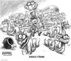 Cartoonist Karl Wimer  Karl Wimer Financial Cartoons 2009-03-10 education