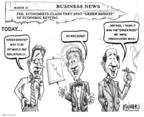 Cartoonist Karl Wimer  Karl Wimer Financial Cartoons 2009-06-19 way