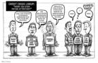 Cartoonist Karl Wimer  Karl Wimer Financial Cartoons 2009-06-01 deal