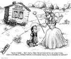 Cartoonist Karl Wimer  Karl Wimer Financial Cartoons 2007-06-08 good