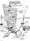 Cartoonist Karl Wimer  Karl Wimer Financial Cartoons 2004-03-06 life
