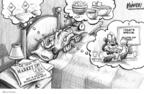 Cartoonist Karl Wimer  Karl Wimer Financial Cartoons 2009-11-09 way