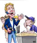 Cartoonist Karl Wimer  Karl Wimer Financial Cartoons 2014-11-13 with