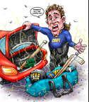 Cartoonist Karl Wimer  Karl Wimer Financial Cartoons 2014-11-17 guy