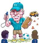 Cartoonist Karl Wimer  Karl Wimer Financial Cartoons 2015-07-21 how