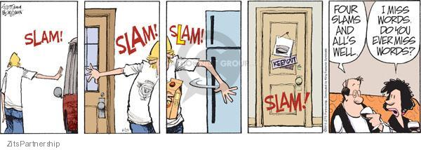 Zits Image #48755  sc 1 st  The Cartoonist Group & Zits - Slam Door Comics And Cartoons | The Cartoonist Group